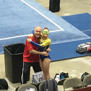 Hannah Wright competed in Asheville, NC at the Level 6,7,and 8 Region 8 Regional Championship Meet. Congratulations Hannah for placing 3rd on Bars Level 7